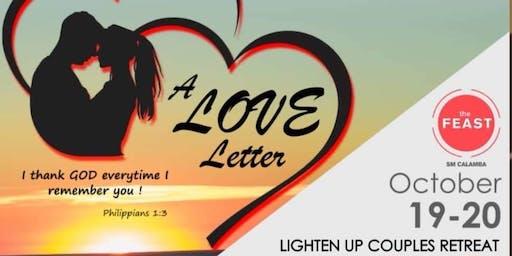 Lighten Up Couples Retreat: A Love Letter