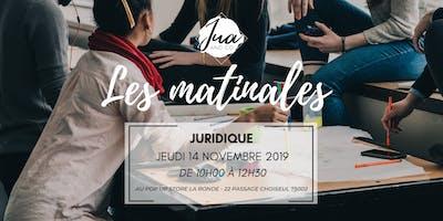 La matinale Juridique by JUA&CO