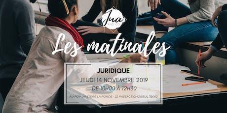 La matinale Juridique by JUA&CO billets