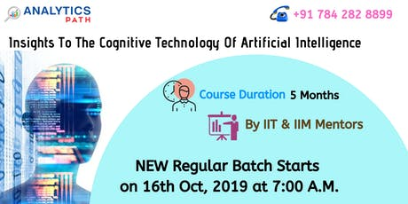 New Regular Batch On AI At Analytics Path Commencing From 16th Oct, 7 AM tickets