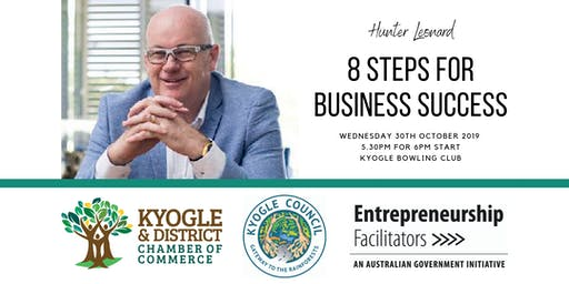 8 Steps for Business Success - Hunter Leonard