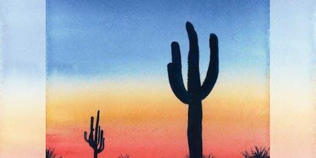 Brew N Brush: Desert Dusk tickets