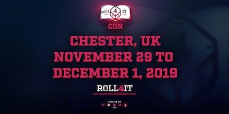 Roll4ItCON 2019 Meet & Greet tickets