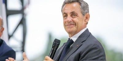 "Diner-débat \""Passions\"" avec Nicolas Sarkozy"