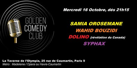 Golden Comedy Club tickets