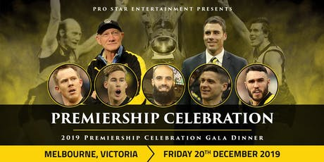 2019 Richmond Premiership Celebration Gala tickets