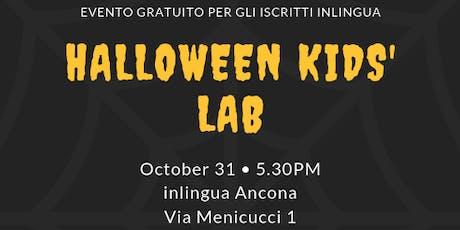 Halloween Lab biglietti