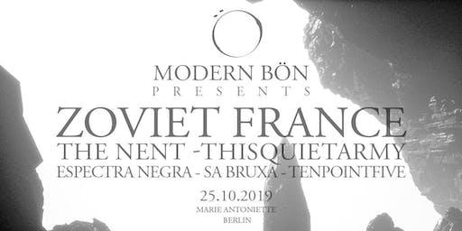 Modern Bön Presents: Zoviet France - The Nent - Thisquietarmy - Sa Bruxa - Espectra Negra