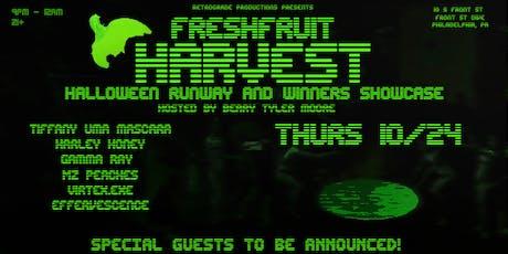 Harvest:  The Fresh Fruit Winner's Showcase and Halloween Runway tickets