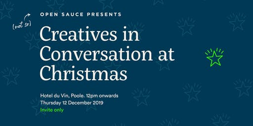 Creatives in Conversation at Christmas