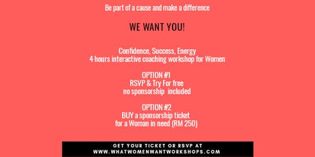 What Women Want Workshop tickets