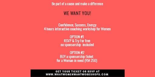 What Women Want Workshop