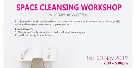 Space Cleansing Workshop tickets