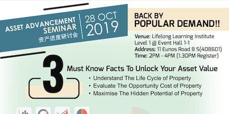 Asset Advancement Seminar tickets