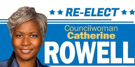 Campaign Fundraiser for Councilwoman Catherine Rowell