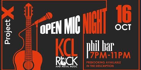 Open Mic Night @Philosophy Bar (Aldwych) tickets