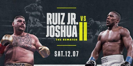 Joshua Vs Ruiz Part 2
