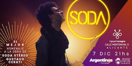 SODA en ALICANTE tickets