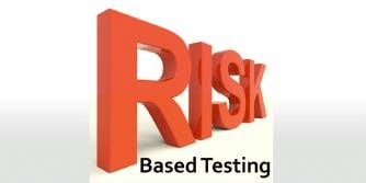 Risk Based Testing 2 Days Virtual Live Training in Utrecht