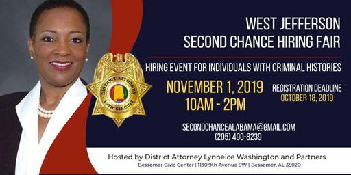 West Jefferson County Second Chance Hiring Fair (Job Seekers)