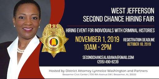 West Jefferson County Second Chance Hiring Fair (Job Seekers)