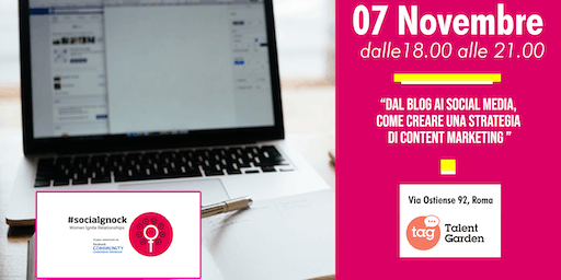 Dal Blog ai Social Media, come creare una strategia di content marketing