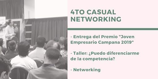 4to Casual Networking 2019 - Entrega Premio Joven Empresario 2019