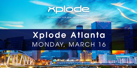 Xplode Conference Atlanta 2020 tickets