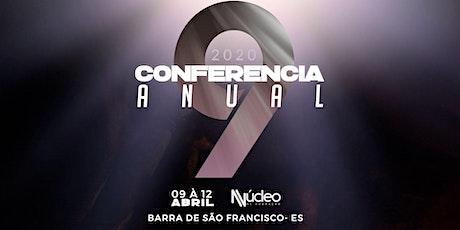 Conferencia Anual 9 Núcleo de Adoração ingressos
