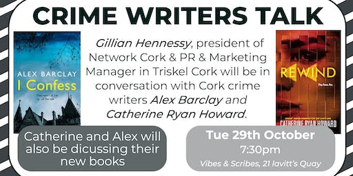 An Evening with Cork Crime Writers