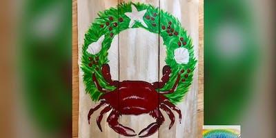 Christmas Crab! Dundalk, Seasoned Mariner with Artist Katie Detrich!