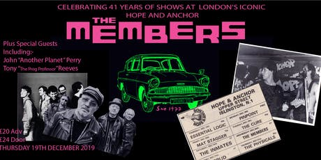 The Members + Special Guests tickets
