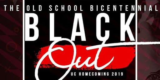 I Want You Back presents UC Homecoming 2019 Bicentennial Blackout