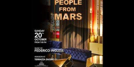 Terrazza Duomo21 / People from Mars - 20 ottobre biglietti