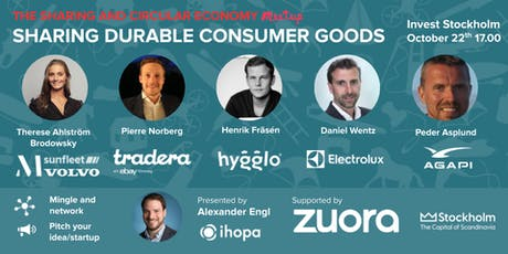 Sharing & circular economy in consumer goods - Panel & Networking (Free) tickets