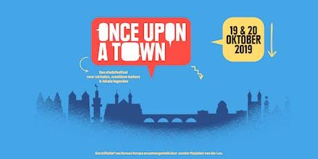 Once Upon A Town - Verhalen Ophalen met Floor van Spaendonck tickets