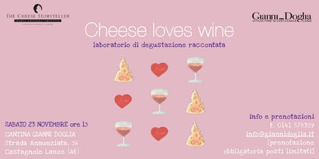 Cheese loves wine biglietti