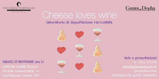 Cheese loves wine