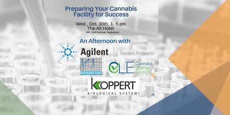 Preparing Your Cannabis Facility for Success tickets