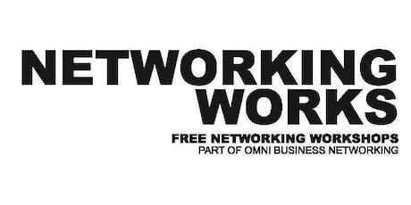 Networking WORKS! - Elevator Pitch Workshop Pt1. tickets
