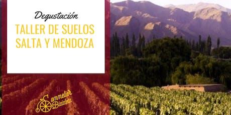 Degustación de vinos: Taller de suelos (Salta y Mendoza) entradas