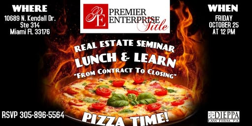 "Real Estate Seminar ""From Contract To Closing"""