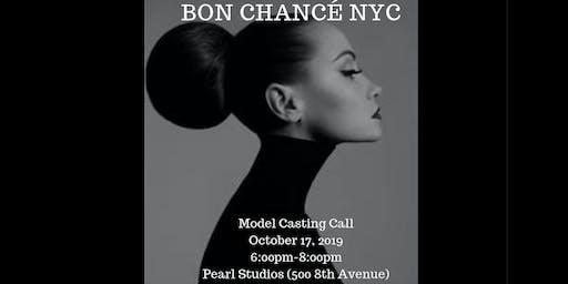 Bon Chancé Model Casting