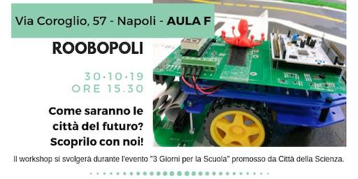 Roobopoli - programma la città del futuro...in classe!