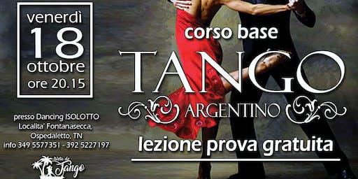 TANGO ARGENTINO - corso base - LEZIONE DI PROVA GRATUITA