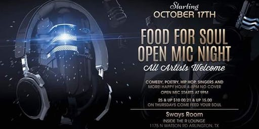 Food For Soul - Open Mic Night