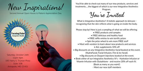 You're Invited to Our 2nd Annual Open House and Patient Appreciation Day! tickets