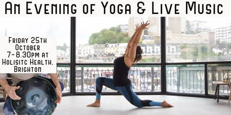 Yoga & Live Music Evening tickets