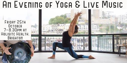 Yoga & Live Music Evening