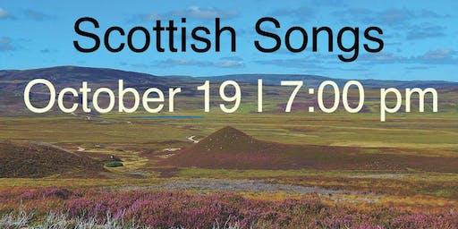 Scottish Songs house concert